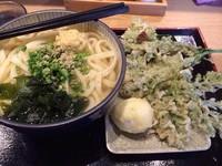 「かけうどん大【430円】」@讃岐うどん 源八の写真