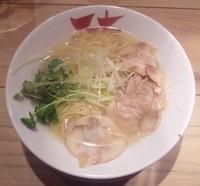 「鶏塩:690円」@京都中華そば 天天有 大井町店の写真