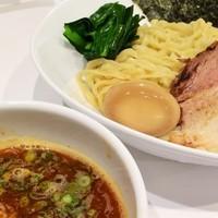 「味玉海老つけ麺950円」@海老・特濃煮干そば まるはの写真