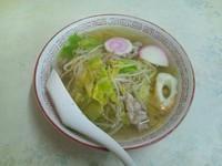 「中華そば(500円)」@朝日食堂の写真