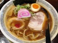 「中華そば(こってり) (650円)」@三麺流 武者麺 江坂店の写真