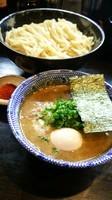 「辛つけ麺あつもり(特盛り)」@二代目 狼煙 ~心~の写真