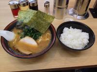 「下北沢セット (ラーメン、ライス大盛り) 560円」@せい家 下北沢店の写真