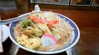 「タンギョウ860円+味噌タンメン」@トナリ 丸の内店の写真
