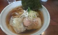 「ワンタン麺・醤油」@らーめん HAGGYの写真