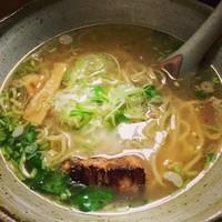 「中華そば しお@700」@節麺屋 つぼみの写真