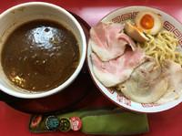 「江戸たまり(並)+おすすめトッピング」@麺処若松の写真