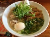 「藻塩麺+煮玉子(¥750+¥100)」@麺処 くげ麺の写真