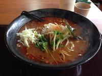 「酸辣味噌ラーメン(大盛り)850円」@イツワ製麺所食堂の写真