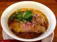 「煮干しらぁ麺」@麺や維新の写真