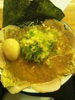 「快老麺(麺増量・チャーシュー・味玉トッピング)」@好来分店の写真