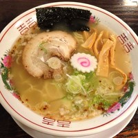 「夜鳴き中華そば 塩(¥650)」@かぶらやの写真
