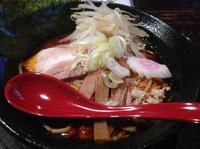 「海老辛ラーメン」@麺や Fujiの写真