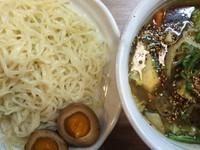 「野菜醤油つけ麺 700円」@天下一らーめんの写真