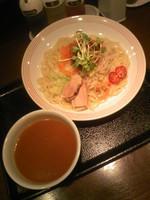 「肉みそ野菜つけ麺590円」@長崎ちゃんぽん リンガーハット 渋谷道玄坂店の写真