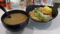 「カレーつけ麺(普通・温)+ライス(サービス)」@CURRY&BAR 2531の写真