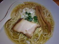 「煮干しソバ(730円)(S)+和え玉(150円)」@煮干中華ソバ イチカワの写真