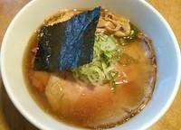 「鰮煮干(醤油)730円+チャーシュー1枚」@喜元門 水戸笠原店の写真