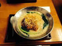 「豚骨坦々麺」@とんりゅうラーメン 堺石津本店の写真