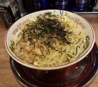 「油まぜ麺(750円)」@麺でる 大岡山店の写真