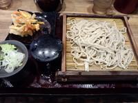 「天もり380円」@蕎麦 冷麦 嵯峨谷 池袋店の写真