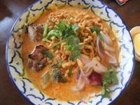 「カオソーイ(907円)」@タイ屋台料理 バナナ食堂の写真