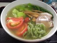 「茶拉麺¥700」@まぁちゃん拉麺の写真