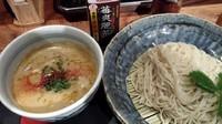 「鶏炊いたんつけ麺 880円」@NAMBA 龍旗信RIZEの写真
