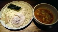 「オロチョンつけ麺、大盛」@らーめん やじるし 下北沢店の写真