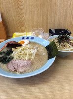 「らーめん醤油 550円」@ラーメン青木亭 瀬崎店の写真