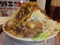 「カレーラーメン(700円)(味普通、ニンニク普通、野菜2倍)」@太一商店 行橋店の写真