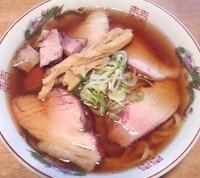 「直火チャーシュー麺+ローストチャーシュー・白ごはん」@喜元門 水戸笠原店の写真