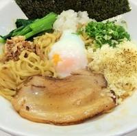 「海老まぜ麺850円」@海老・特濃煮干そば まるはの写真