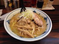「味噌ラーメン(大)850円」@札幌 味噌や 元住吉店の写真