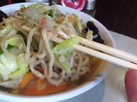 「タンメン 太麺 大盛」@麺処 まるよし商店の写真
