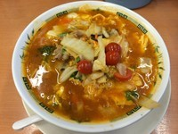 「トマト酸辣湯麺(¥570)」@中華食堂日高屋 相模大野店の写真