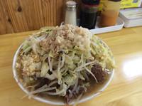 「小ラーメン 730円  生卵  50円  (ニンニク、アブラ、カ」@らーめん つの旨の写真