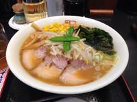 「味噌ラーメン(大盛り)850円」@喜多方ラーメン 坂内 多摩センター店の写真