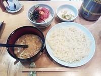 「稲庭うどんセット(麺小)」@七蔵の写真