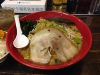 「赤の味噌ラーメン700円」@味噌の金子の写真