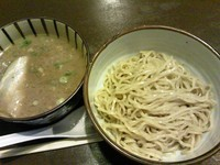 「豚骨と醤油麹のつけ麺(700円)」@濃厚豚骨 NOTOИ ノートンの写真