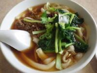 「ジャージャー麺+半炒飯セット」@聚香閣の写真
