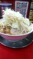 「豚玉ラーメン倍盛り(全マシ)」@ジャンクガレッジの写真
