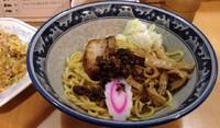 「あぶら~麺+半チャーハン(900円)」@あぶらー亭の写真