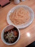 「木菟つけ麺(大盛)750円」@木菟ラーメンの写真
