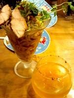 「ボヤパフェ2014(限定)950円」@麺場voyageの写真
