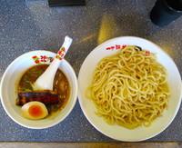 「焦がし味噌」@つけ麺道 開花屋一貫 名古屋店の写真