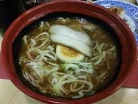 「7種の魚介とんこつ醤油らーめん」@無添 くら寿司 松本渚店の写真