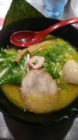 「鶏白湯黄金らーめん(770円)」@博多鶏炊き濃厚らーめん ひのとり 東京東陽町本店の写真