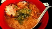 「シロエビ塩らーめん」@麺家いろは 京都駅ビル店の写真
